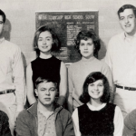 4. Hillary Clinton - US presidential candidate posted a pic of her squad of high school party animal friends claiming that her life hadn't always been about suitpants and presidential campaigns. Mostly suitpants and debate teams, right Hillary? (Photo: Twitter, @HillaryClinton)