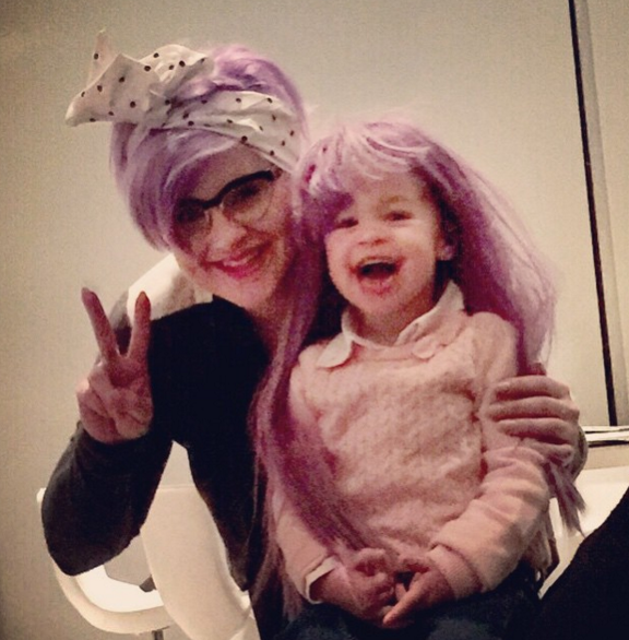 Can anyone blame proud aunt Kelly Osbourne for being overprotective of this cute tot? (Photo: Instagram, @kellyosbourne)