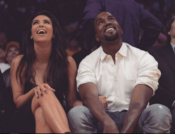 Kim Kardashian and Kanye West relied on a divine social media intervention to keep their son's name untainted by less famous rappers. (Photo: Instagram, @kimkardashian)