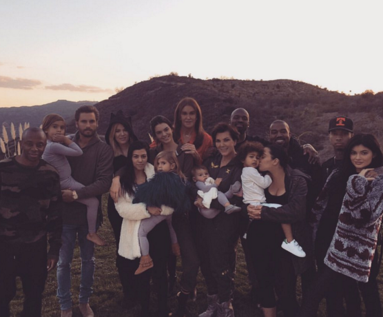 Every family believes at least one of its members is a saint, but few can claim it like the Kardashians and Wests. (Photo: Twitter, @KimKardashian)