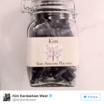 Kim Kardashian Placenta Pills (Photos: Instagram, @kimkardashian)