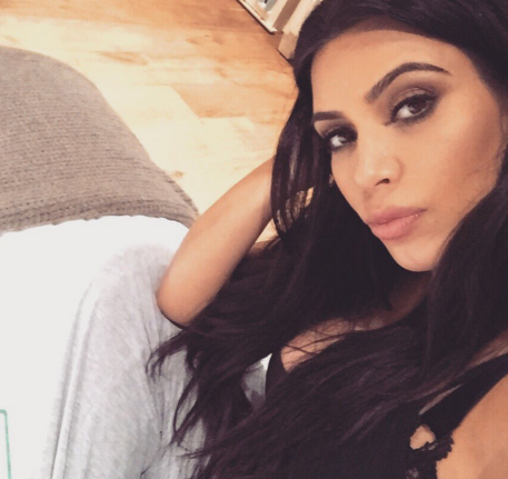Just a few days ago Kim Kardashian was waiting for the arrival of her son, now she is thinking of her next child. (Photo: Twitter, @KimKardashian)