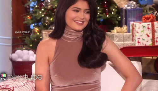 Kylie Jenner posted this: I am obsessed with ELLEN!!!!!! Airs in 5 minutes!!!!!! (Photo: Instagram, @kyliejenner)