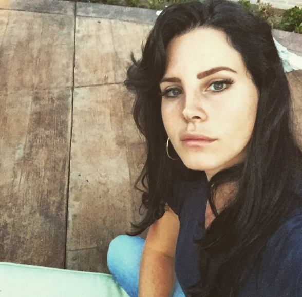 Lana Del Rey might want to think about another move after an intruder invaded her private garage. (Photo: Instagram, @lanadelrey)