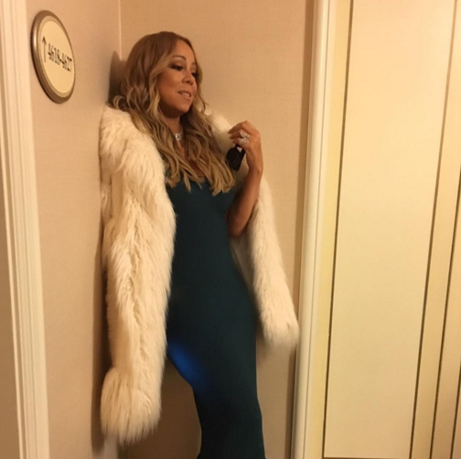 The glamorous star with the voice of an angel has fallen severely ill ahead of festive concerts. (Photo: Instagram, @mariahcarey)