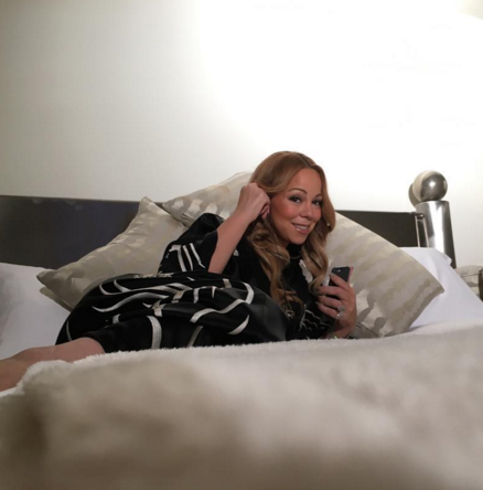 Mariah Carey is set to perform after making a speedy recovery from a health scare earlier this week. (Photo: Instagram, @mariahcarey)