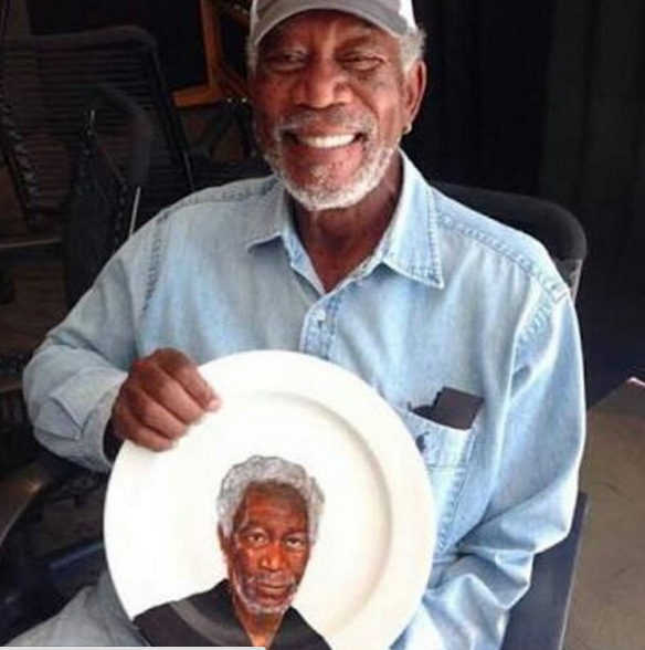 Hollywood icon Morgan Freeman is safe after surviving an emergency crash landing on a private flight. (Photo: Instagram, @morgan_freeman_oficial)