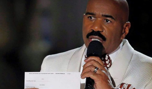 Steve Harvey's massive Miss Universe blunder has been lampooned relentlessly online, but there's no such thing as bad publicity. (Photo: Instagram, @jacobiabbott)