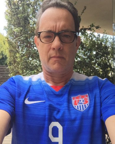 Tom Hanks has a strange, but hip request from Santa Claus for his present this Christmas. (Photo: Instagram, @tomhanks)