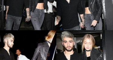 Zayn Malik and Gigi Hadid caught holding hands on date