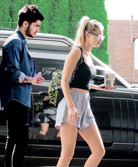 Zayn Malik and Gigi Hadid are having a great time together and the model's mom approves. (Photo: Instagram, @zayngigi)