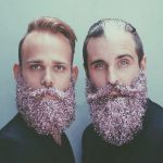 1. The #glitterbeard trend (Photo: Instagram, @s_n_e_f_f)