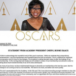 The meeting follows a statement by Academy President Cheryl Boone Isaacs promising reform. (Photo: Instagram, @entertainmentprescription_)