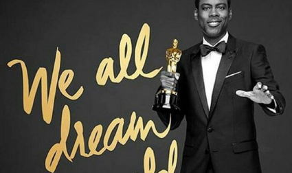 Host Chris Rock has faced pressure to back out, but has decided to stay on. (Photo: Instagram, @theoscars2016)