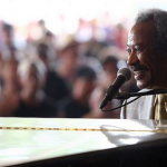 Allen Toussaint – Allen helped to define the New Orleans R&B sound in the 60s and 70s and went on to work on albums by rock greats as diverse as Elvis Costello, The Band and Paul McCartney. He died of a heart attack on November 9 while on tour in Madrid. He was 77. (Photo: Instagram, @bonnaroo)
