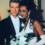 On 24 April 1992, the Somalian-born model and the chameleon of rock got married in Lausanne, Switzerland. (Photo: Instagram, @foreveronke)