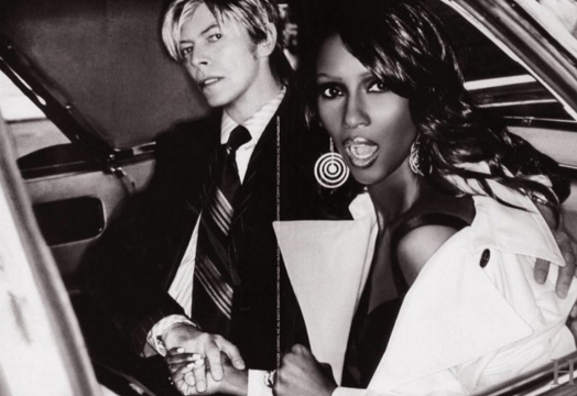 15 bowie and iman pics to treasure jetss. Black Bedroom Furniture Sets. Home Design Ideas