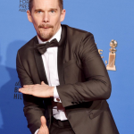 Best Supporting Actor in a Motion Picture – Ethan Hawke,Boyhood (Photo: Instagram, @usweekly)