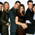 Schwimmer said earlier that they would only appear on stage to honor the show's frequent director James Burrows. (Photo: Instagram, @friends.fyi)