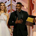 WORST: Jamie Foxx does a Steve Harvey and announces Straight Outta Compton as the winner of the Best Original Score – Motion Picture award before revealing the real winner. (Photo: Instagram, @customplay)