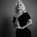 BEST: When Lady Gaga actually won a Globe as Best Actress in a Limited-Series or TV Movie for American Horror Story: Hotel. (Photo: Instagram, @99iaranda)