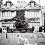 The Playboy Mansion has served as the backdrop to a long history of raunchy nude photo shoots featured in the magazine. (Photo: Instagram, @ellenvonunwerth)