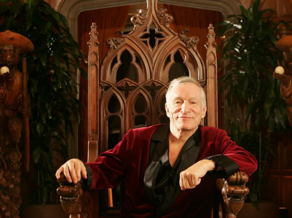 The man of the house, Playboy founder Hugh Hefner, would most likely stay on after the sale of the mansion. (Photo: Instagram, @hughhefner)