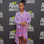 Best Actress in a Motion Picture, Musical or Comedy – Quvenzhané Wallis,Annie (Photo: Instagram,