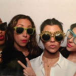 Kourtney is said to have been with friends when her mom and sisters dealt with the disturbing call from her ex. (Photo: Instagram, @kourtneykardashian)