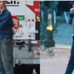 Miley Cyrus was spotted unloading moving boxes from a van outside Liam Hemsworth's house this weekend. (Photo: Twitter, @TMZ)