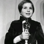 Tatum O'Neal, aged 10 – WON for Paper Moon (1973) (Photo: Instagram, @amoviebuff)