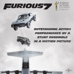 See You Again – Snubbed for Best Song for Furious 7 (Photo: Instagram, @fastandfuriousmovie)