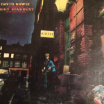 Ziggy Stardust - Not many artists can pretend to be another fictional artist and still pull off one of the greatest title songs on one of the greatest albums ever. (Photo: Instagram, @vinyl_crush)