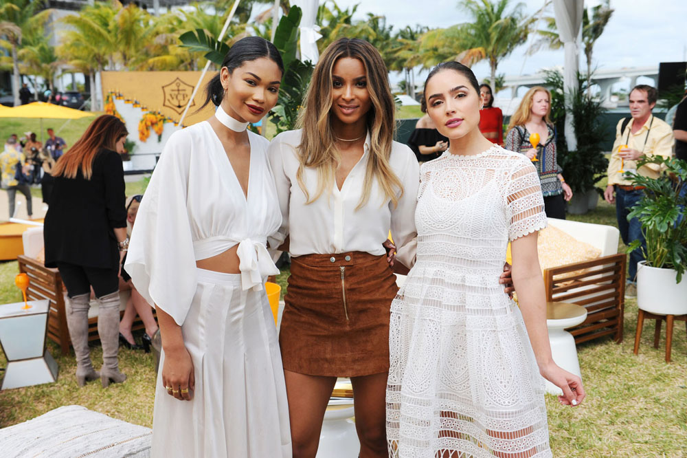 Olivia Culpo, Ciara and Chanel Iman