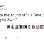 Taylor Swift fan pages were obviously gushing over the win. (Photo: Twitter, @TSwiftNeedsYou)