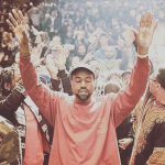 The 38-year-old rapper released his latest album to cheering crowds in New York City last week. (Photo: Instagram, @kardajenner_updatess)
