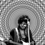 Jimi Hendrix, pioneering electric guitarist – Died of Asphyxiation (1970) (Photo: Instagram, @anrroom)