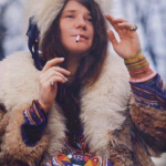 Janis Joplin, singer-songwriter of Big Brother and the Holding Company – Died of a drug overdose (1970) (Photo: Instagram, @anderzoo)