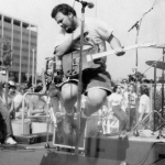 D. Boon, singer and guitarist of the Minutemen – Died in a traffic collision (1985) (Photo: Instagram, @notlikeyoufanzine)