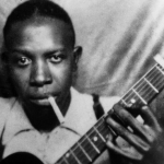 Robert Johnson, blues singer and guitarist – Died of poisoning (1938) (Photo: Instagram, @davidapino)