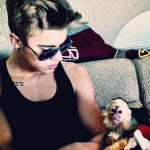 "NAPSA has branded Bieber's endorsement of monkeys as pets ""irresponsible"" and ""foolish"" and has urged him to change his mind. (Photo: Instagram, @loveyoukidrauhl)"