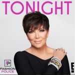 Kris Jenner appeared as a guest on the show Fashion Police. (Photo: Instagram, @krisjenner)