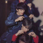 During the early part of their career The Beatles were known for their mop top hairstyles. (Photo: Instagram, @johnny_paulie)