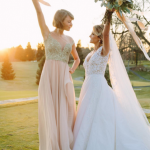 Taylor Swift returned to her hometown to be the maid of honor at a childhood friend's wedding. (Photo: Instagram, @taylorswift)