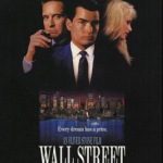 Wall Street (1987) – Directed by Oliver Stone and starring Charlie Sheen, Michael Douglas, Tamara Tunie, Franklin Cover (Photo: Instagram, @tsquared25)