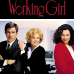 Working Girl (1988) – Directed by Mike Nichols and starring Melanie Griffith, Harrison Ford, Sigourney Weaver, Alec Baldwin (Photo: Instagram, @susieledonne323)
