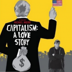 Capitalism: A Love Story (2009) – Directed by Michael Moore and starring Michael Moore, Thora Birch, William Black, Jimmy Carter (Photo: Instagram, @dieguinho_piu)