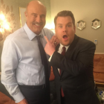 Dr. Phil appeared as a guest on The Late Late Show with James Corden. (Photo: Instagram, @drphil)