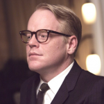 Capote (2005) – Directed by Bennett Miller and starring Philip Seymour Hoffman, Clifton Collins Jr., Catherine Keener, Allie Mickelson. (Photo: Instagram, @helenapoblet)
