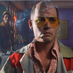 Fear and Loathing in Las Vegas (1998) – Directed by Terry Gilliam and starring Johnny Depp, Benicio Del Toro, Tobey Maguire, Ellen Barkin. (Photo: Instagram, @alessia__delia)